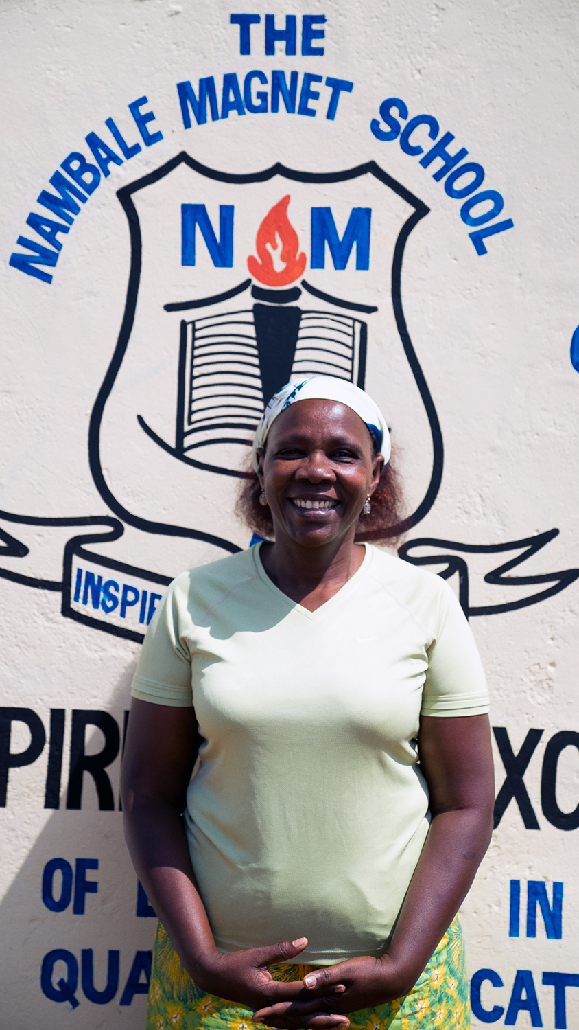 The Nambale Magnet School Director