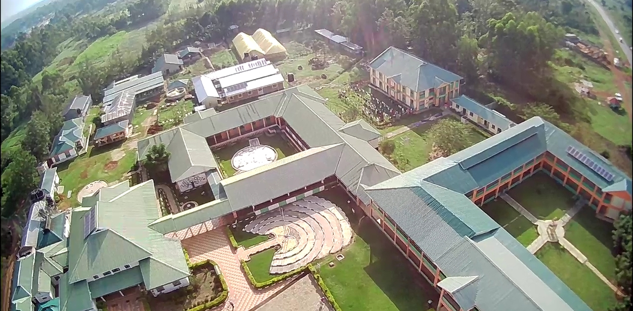 Nambale Magnet School Aerial view