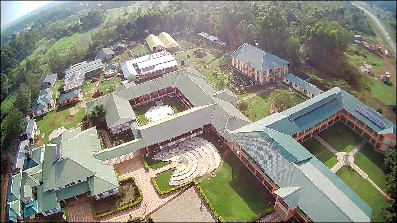 Nambale Magnet School Aerial view